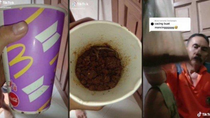 Gelas BTS Meal Digunakan Sang Ayah Untuk Tempat Cacing, Army Ini Bongkar Fakta Sebenarnya