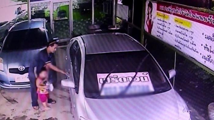 Bersama Anaknya, Pria ini Curi Toyota Vios, Alasannya Bikin Trenyuh