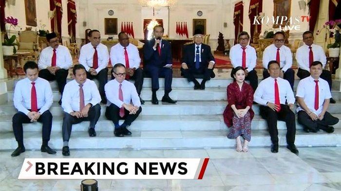 Presiden Jokowi Segera Reshuffle Kabinet, 5 Menteri Terancam Diganti