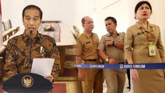 Daftar 3 Keuntungan Jadi PNS di Era Presiden Jokowi, Ada Gaji ke-13 dan Bantuan Pulsa Selama Pandemi