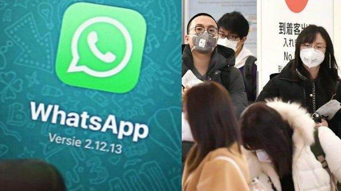 Daftar 54 Pesan Hoax Soal Virus Corona Beredar di WhatsApp, Jangan Asal Klik atau Data Anda Dicuri