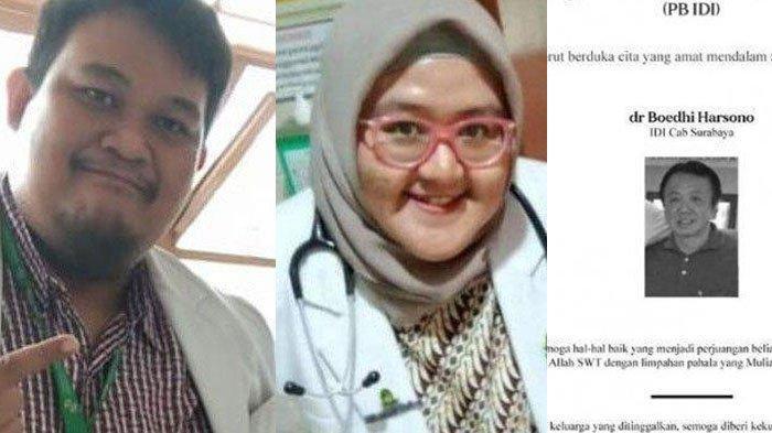 Daftar 7 Dokter Gugur Akibat Covid-19 di Surabaya, Ada yang Tertular dari Pasien dan Sempat Dirawat