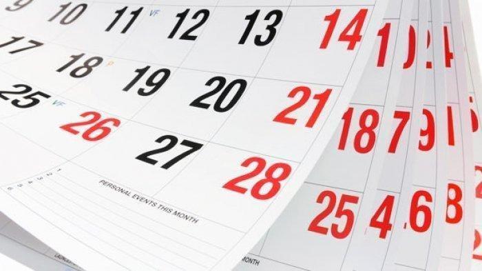 Daftar Hari Libur Nasional dan Cuti Bersama tahun 2021