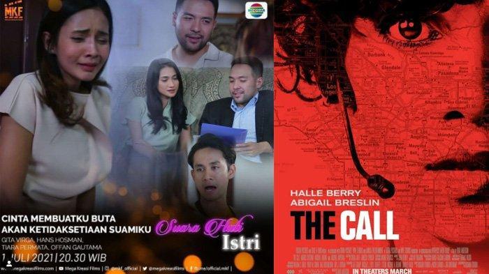 Jadwal Acara TV Hari Ini Jumat 2 Juli, Indosiar SCTV Trans TV Trans 7: The Call& Suara Hati Istri
