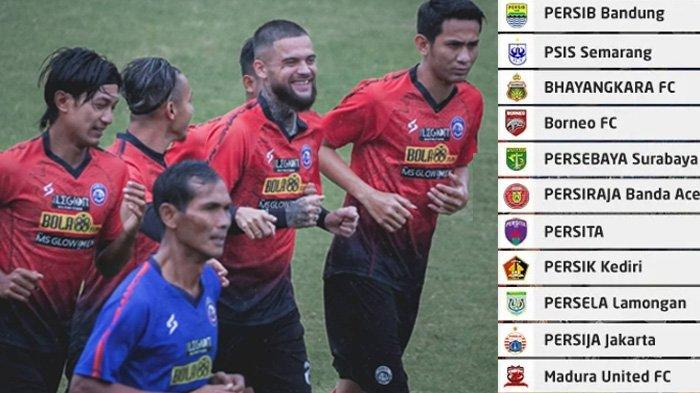 Klasemen dan Jadwal Arema FC Pekan Ini Lawan PSS Sleman, Amunisi Poin Kurang, Johan Farizi Menyesal