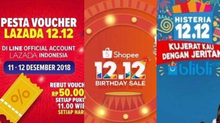 Daftar Promo Harbolnas 12 12 Shopee Blibli Com Lazada Desember 2019 Bocoran Diskon Hingga 90 Halaman All Surya Malang