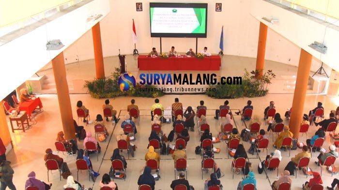 Dindikbud Kota Malang Kucurkan Dana Operasional Penyelenggaraan Pendidikan Diniyah dan Guru Swasta