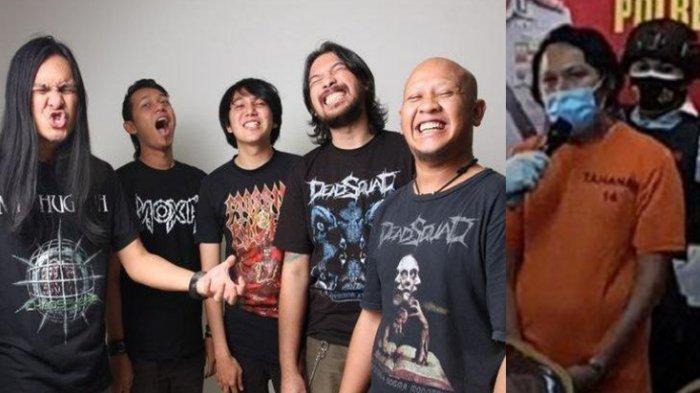 Kronologis Penangkapan Daniel Mardhany, Vokalis & Mantan Drumer Deadsquad Tersangka Kasus Narkotika