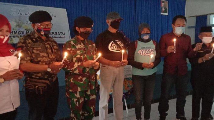 Sampaikan Duka Cita Musibah Kapal Selam KRI Nanggala-402, Ormas Malang Bersatu Datangi Lanal Malang