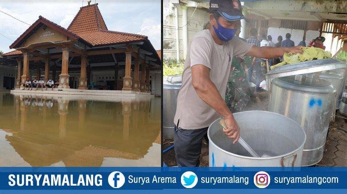 Mojokerto Banjir Lagi, Ratusan Rumah di Desa Tempuran Terendam, DU Dinsos Kembali Beroperasi