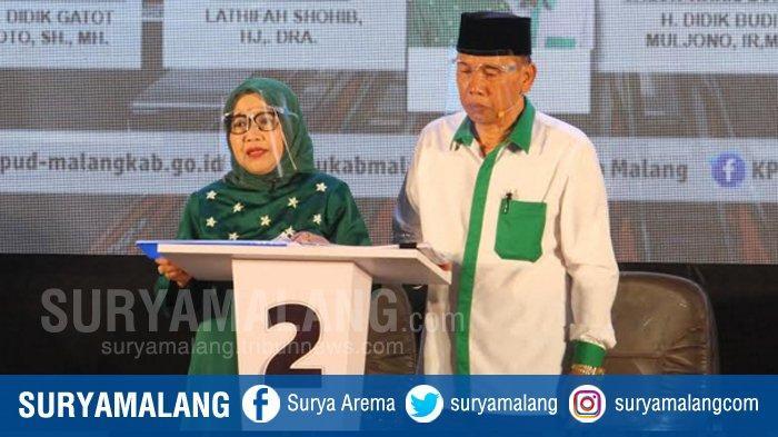 Lathifah Shohib-Didik Budi Muljono (Ladub) Tak Gugat Hasil Rekapitulasi Suara Pilbup Malang 2020