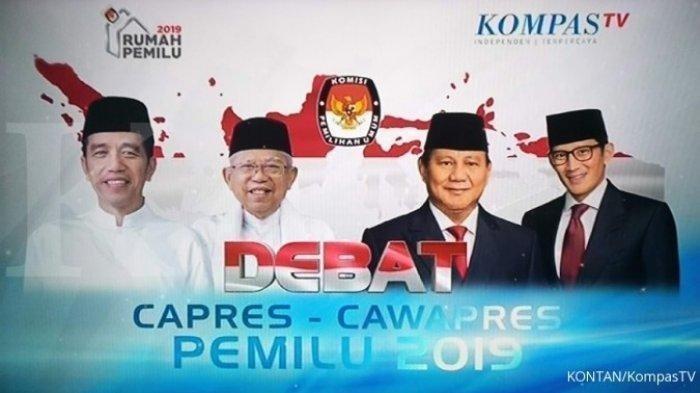 Debat Pilpres 2019, Bahas Terorisme Prabowo: 'Itu Akibat Rasa Ketidakadilan'