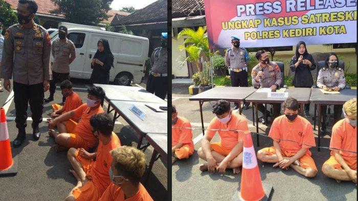 4 Pria Asal Sumatra Utara Jadi Debt Collector Koperasi Kemuning, Tabrak dan Keroyok Warga Kediri