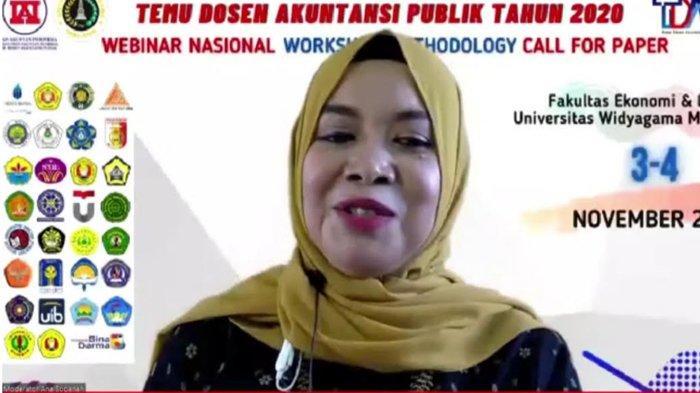 FEB Universitas Widyagama Jadi Tuan Rumah Temu Dosen Akuntansi Publik, Dibuka dengan Webinar