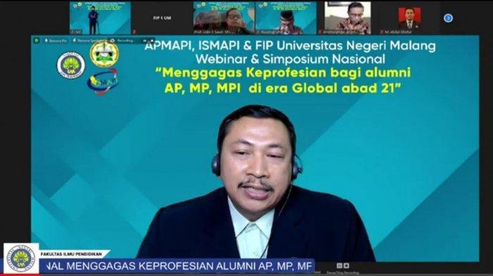 Simposium FIP Universitas Negeri Malang :  Keprofesian Perlu Disesuaikan Abad Global