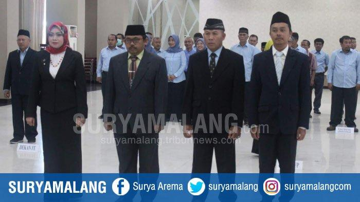 Rektor Universitas Widyagama Malang Lantik Empat Dekan Baru, Tugas Menanti Tinjau Kurikulum Lama