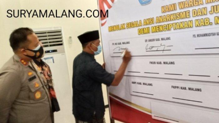 Kapolres Malang, AKBP Hendri Umar Tak Larang Pelajar dan Mahasiswa Demo, Tapi . . .