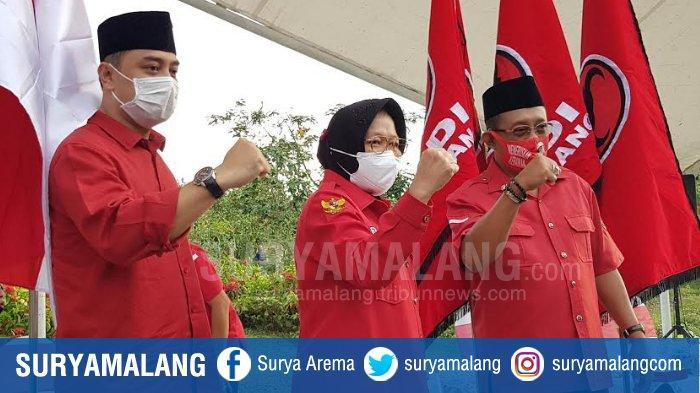Daftar Panglima Pemenangan Pasangan Eri-Armuji di Pilwali Surabaya, Tri Rismaharini Jadi Jurkam