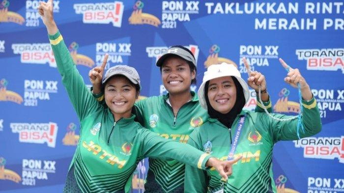Panahan Jatim Tambah Satu Medali Emas di PON XX Papua 2021