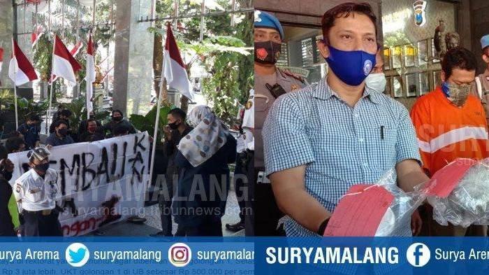 Berita Malang Hari Ini Rabu 26 Agustus Populer: Demo UKT Mahasiswa UB dan Ganja di Paket Ekspedisi