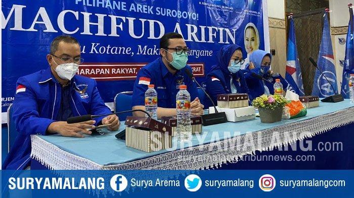 Daftar Kader Partai Demokrat yang Digadang-gadang Dampingi Machfud Arifin di Pilwali Surabaya