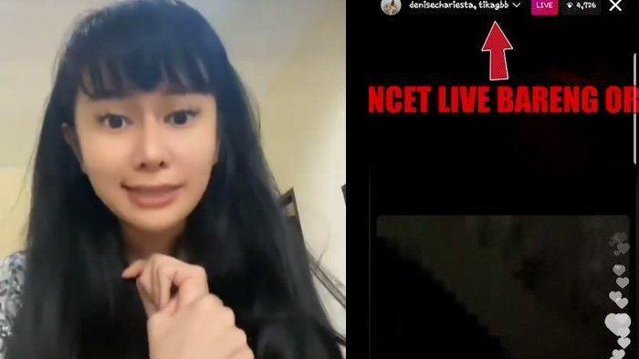 Bocor Obrolan Denise Chariesta Lupa Matikan Live Instagram, Gibah Dewi Perssik dan Nikita Mirzani