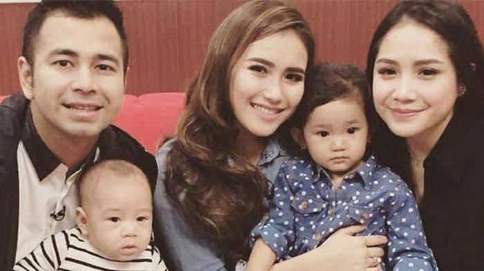 Potret keluarga Raffi Ahmad dan Ayu Ting Ting