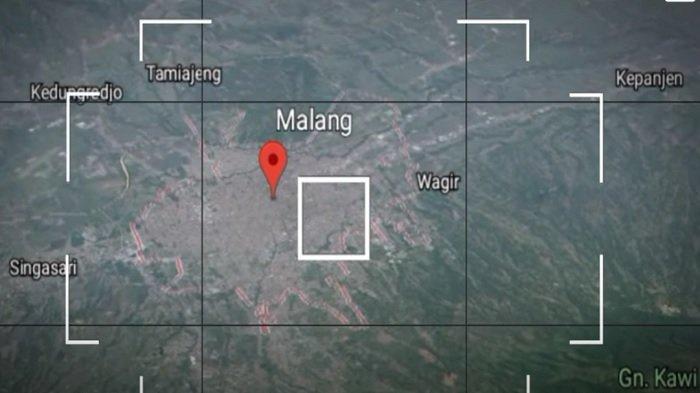 Dentuman misterius di Malang