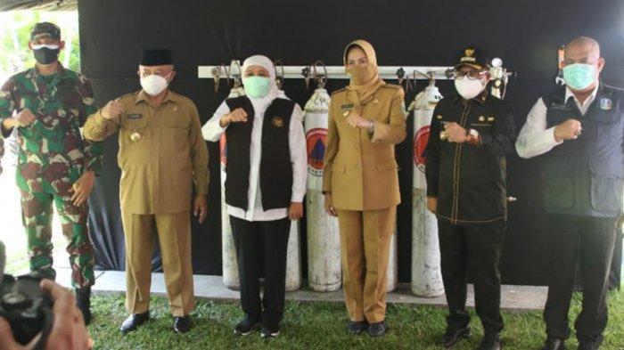 Sutiaji Apresiasi Peresmian Tempat Isi Ulang Tabung Oksigen Gratis di Bakorwil III Malang