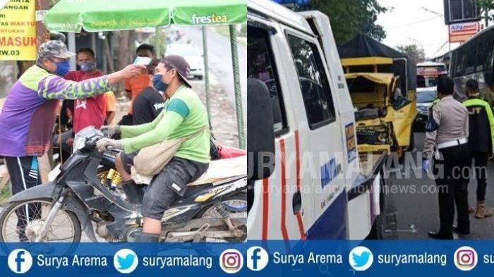 Berita Malang Hari Ini 3 Juni 2020 Populer: PSBL Diterapkan di Desa Giripurno & Kecelakaan Beruntun