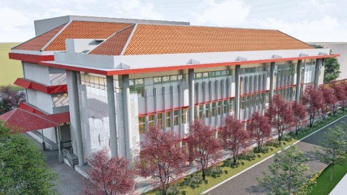 Desain Gedung Baru Fakultas Hukum UPN Veteran Jatim, Ada Ballroom Berkapasitas 200 Orang