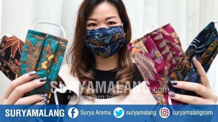 Desainer Asal Surabaya, Margaretha J Berbagi Tips Membuat Masker Kain Motif Batik