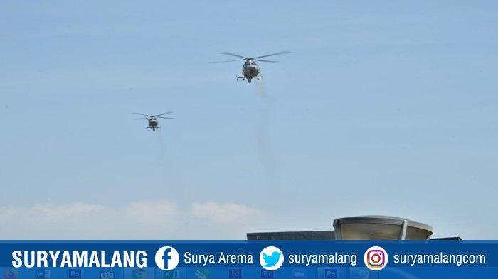 Semprotkan 10 Ton Disinfektan dari Udara, TNI AL Kerahkan Pesawat Terbang dan Helikopter