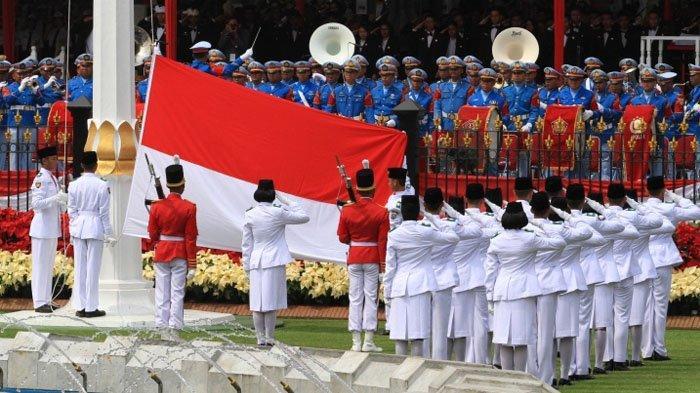 Jadwal Acara SCTV TRANS TV GTV RCTI Indosiar Hari Sabtu 17 Agustus, Live Upacara di Istana Negara