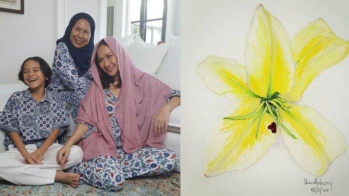100 Hari Ashraf, Dida Sinclair Beri Hadiah Bunga Citra Lestari & Sisipkan Pesan Manis Ini