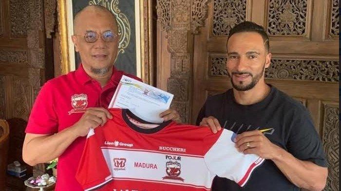 Bursa Transfer Liga 1 2019 Belum Dibuka, Madura United Sudah Kontrak Pemain Asing Baru, Diego Assis