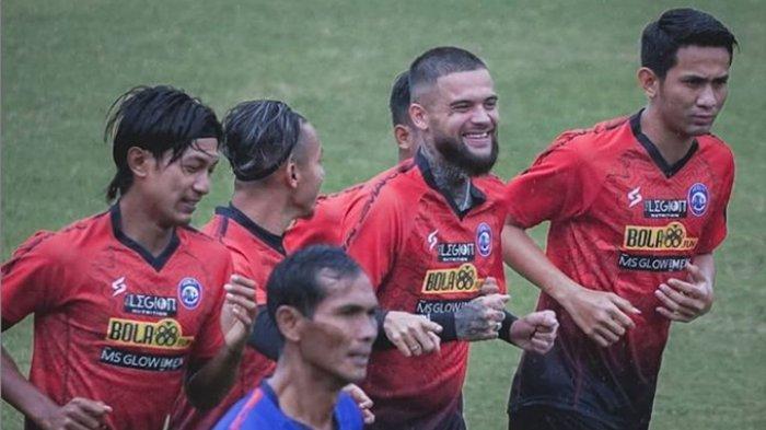 Peluang Debut Diego Michiels Bersama Arema FC Lawan PSS Sleman di Pekan ke 3 Liga 1 2021