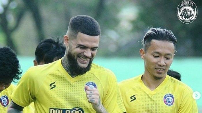 Termasuk Diego Michiels, Inilah Pemain Arema FC yang Masih Dibekap Cedera dan Sudah Sembuh saat PPKM