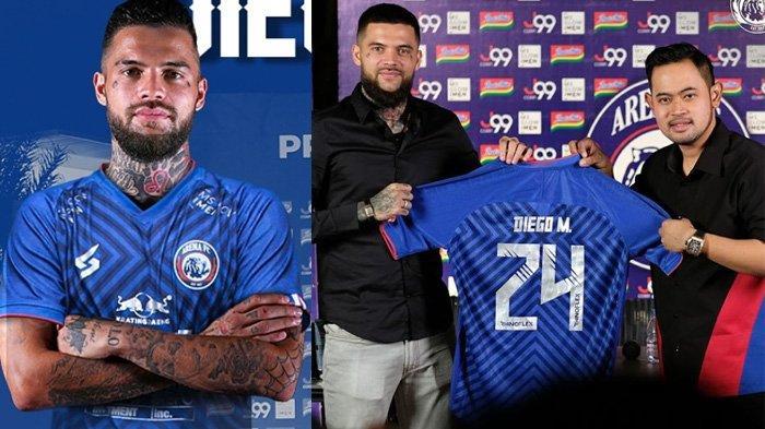 Sejiwa Dengan Arema FC, Misi Khusus Diego Michiels Ternyata Sama dengan Presiden Klub Gilang Pramana