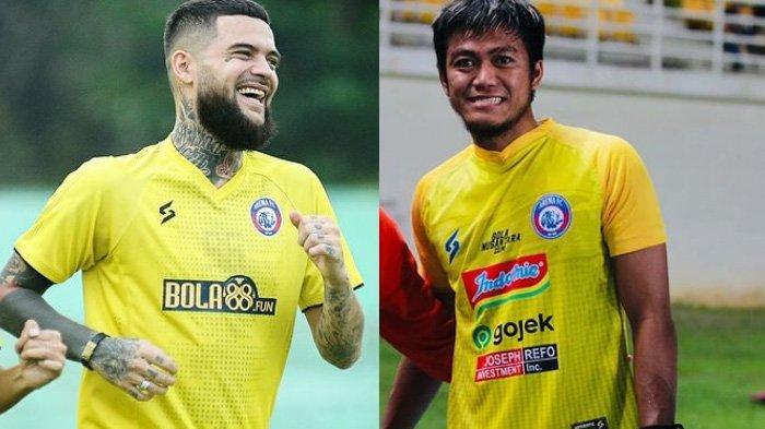 Berita Arema Populer Selasa 15 Juni 2021: Motif Diego Michiels Bergabung & Transfer Utam Rusdiyana