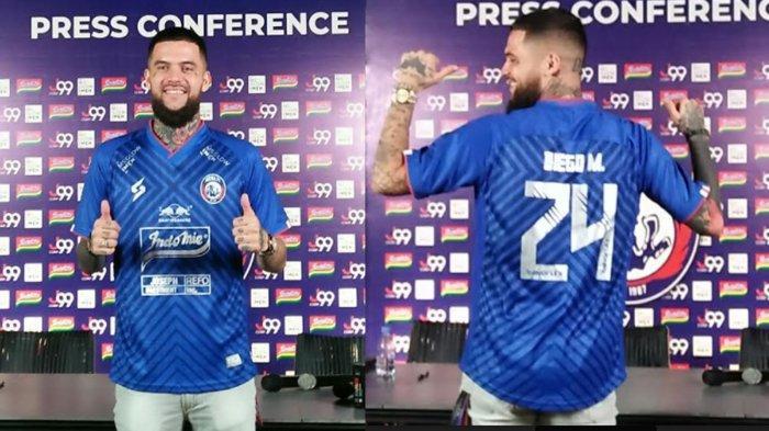 Cara Arema FC Pagari Diego Michiels Versi Presiden Klub, Gilang Widya Tak Mau Pemainnya Indispliner