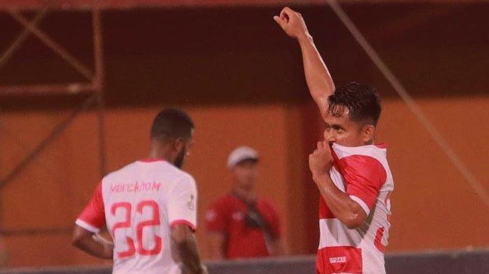 Andik Vermansah Cetak Gol, Tim Bertabur Bintang Madura United Hanya Menang 2-0 Atas Cilegon United