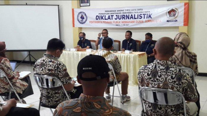 Perumdam Among TirtaGandeng PWI Malang Raya,Pahami Dunia JurnalistikLebih Jauh