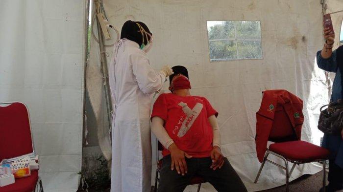 Hari Ketiga Penyekatan Larangan Mudik di Kota Malang, 31 Orang Telah Jalani Swab Tes Antigen