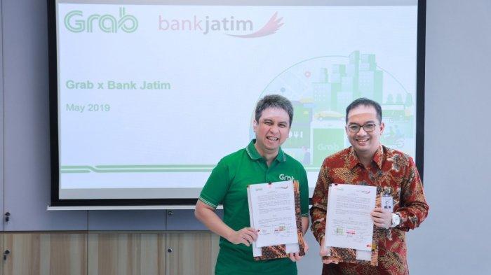 Bank Jatim Dan Grab MoU Untuk Kerjasama Jasa Layanan Keuangan Digital