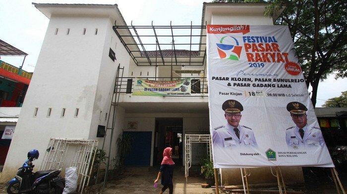 Wali Kota Malang Sutiaji Resmikan Tiga Pasar Rakyat