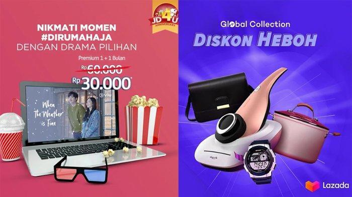 Daftar Diskon HP & Laptop di Lazada & JD.id Tanggal 27 - 28 Maret 2020, Flash Sale Samsung Galaxy