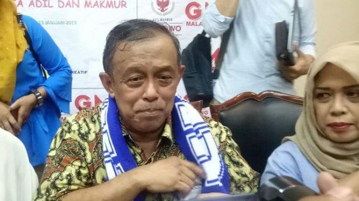 Di Kota Malang Djoko Santoso Sampaikan Rencana Prabowo Mundur dari Pilpres 2019 Jika Hal Ini Terjadi
