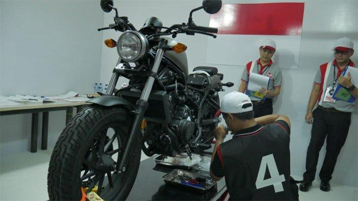 Honda A&O Motorcycle Technician Skill Contest 2018, Ajang Pencarian Teknisi Terbaik Se-Asia Oceania