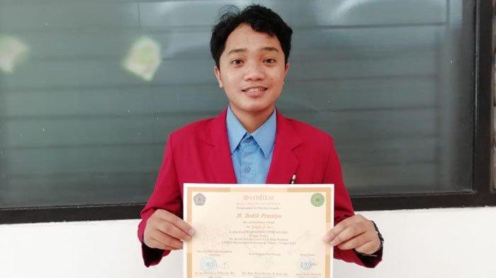 Mahasiswa UMM, Dodik Prastiyo Juara Dua Berkat Esai Soal Vaksin